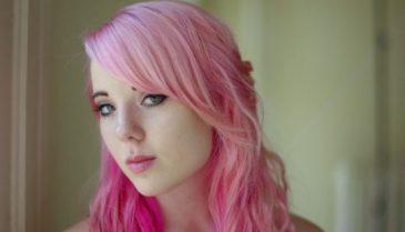 髪をグラデーション色に自分で染めるやり方・セルフ ピンクが人気♪